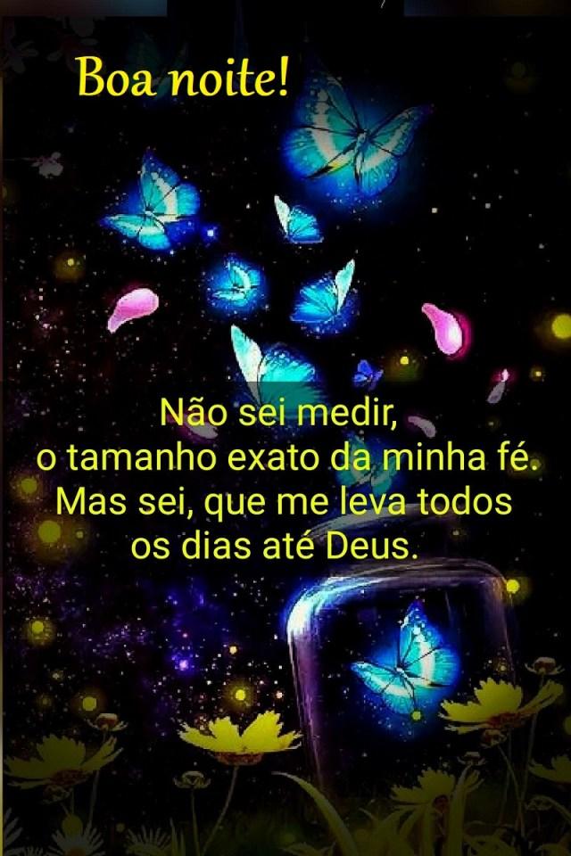 Boa noite com borboletas