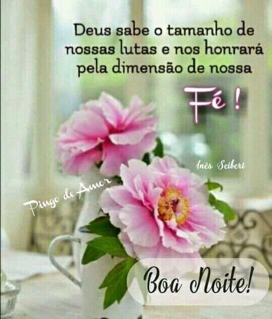 Boa noite de fé