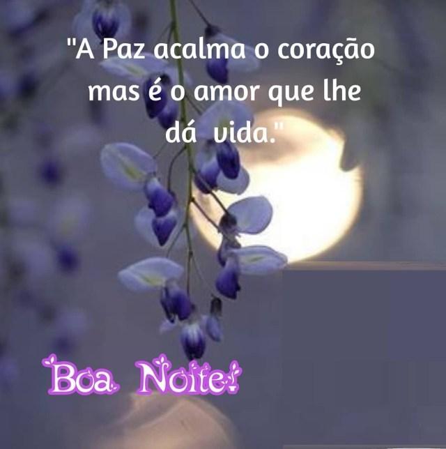 Boa noite de paz e amor