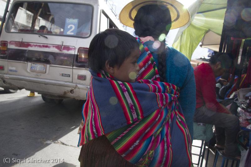 Mercado campesino. Sucre, Bolivia