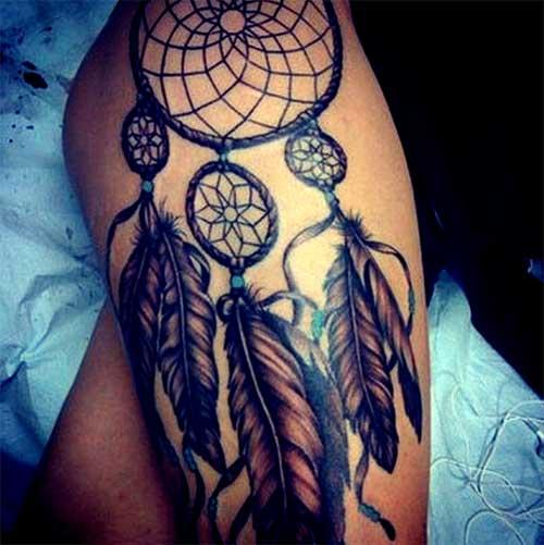 Tatuagens Femininas Na Coxa Filtro Dos Sonhos