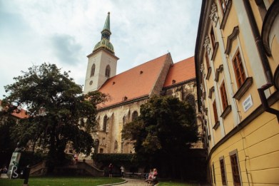 Things to do in Bratislava in an Afternoon - St Martins Church 01