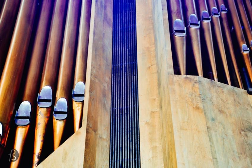 Church in the Rock Helsinki Temppeliaukio Organ 03