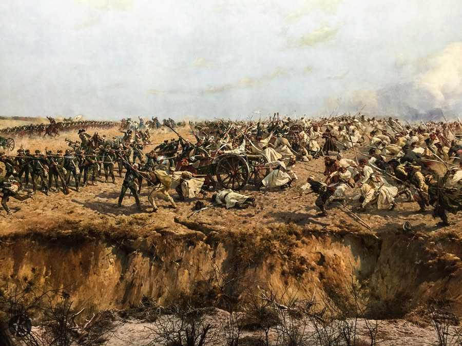 Panorama of the Battle of Racławice in Wrocław_13