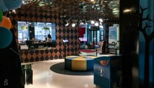 What can we say about our stay at Scandic Passi in Helsinki? First, we have to say that it was one of the best hotels we have ever been. If you are asking yourself why, let us tell you our reasons. So, the hotel is beautifully designed to remember the area's history. All the walls in the hotel are decorated with a circus theme that may sound a little creepy but works perfectly. From the reception area to the number of the rooms, everything looks so cool that you might feel like you want to copy it in your house later.