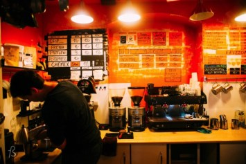 One of the first places that you have to go when you visit Jeżyce is Brisman Kawowy Bar where you are going to have an amazing coffee. This place is made for those who really care about their coffee and you will see this when you ask for something special.
