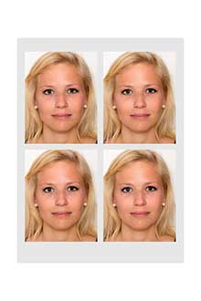 Biometrische Passbilder vom Fotostudio Keepsmile, Castrop-Rauxel bei Dortmund