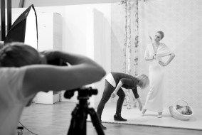 Behind the Scenes – Stylistin stylt Model