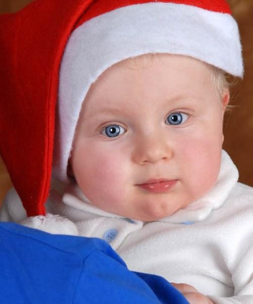 Fotoshooting für Babyfotos zu Weihnachten: eine Perfekte Geschenkidee