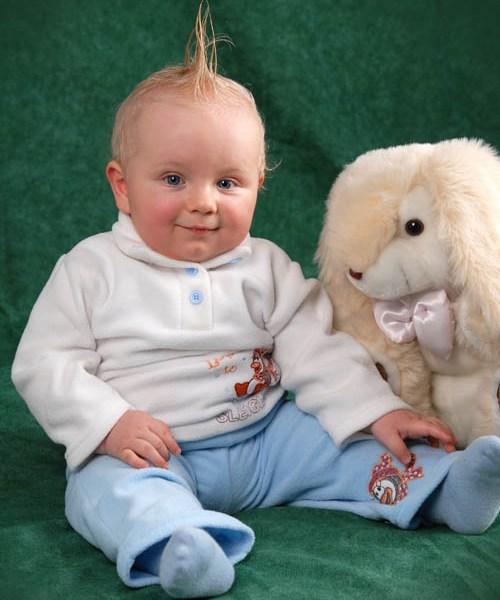 Schöne Babybilder im Photostudio München
