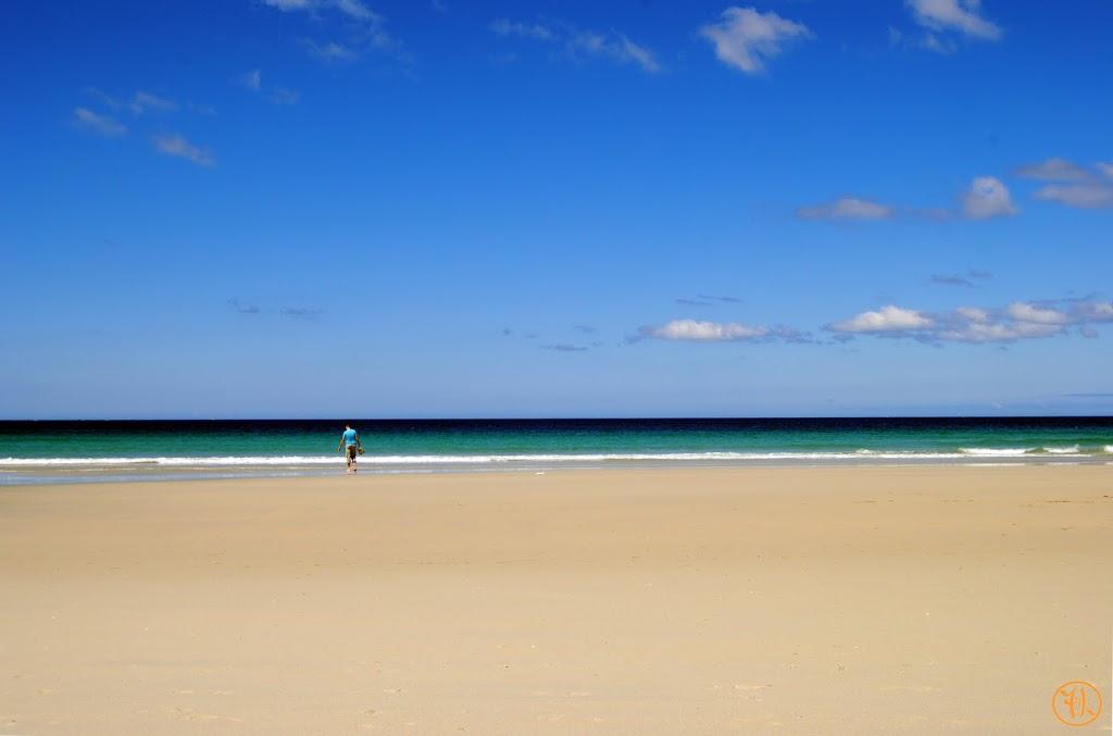Playa de Carnota. Uno de los lugares más bonitos de España