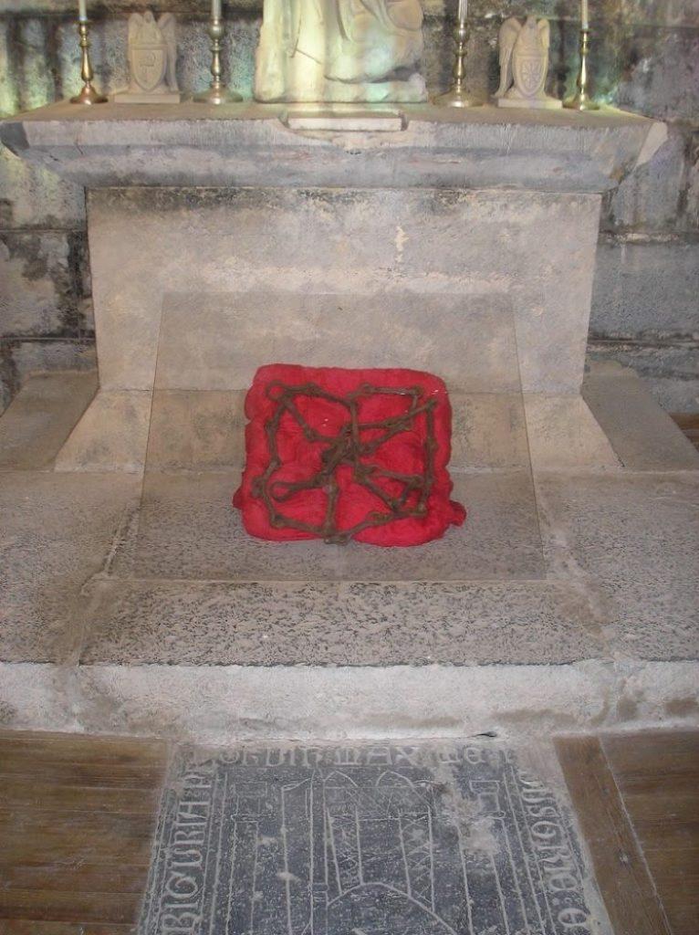 Cadenas del escudo de Navarra