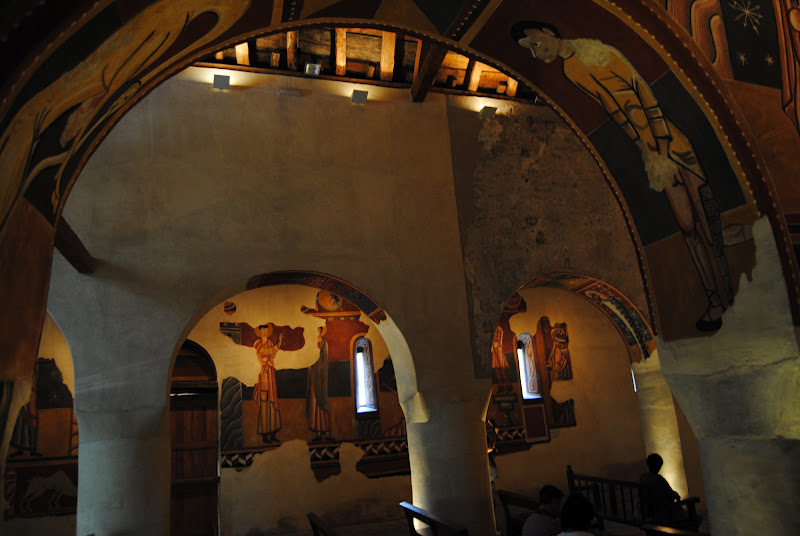 Murales de la Iglesia de Sant Joan de Boí