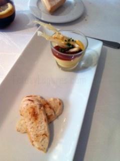 Primer plato en Restaurante Murri