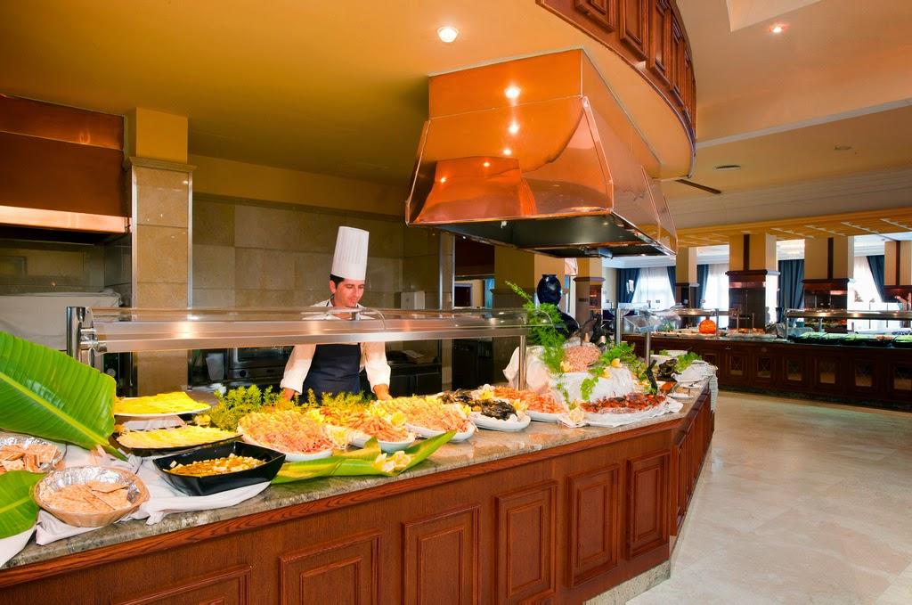Buffet del hotel Barrosa Park