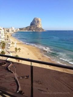 Vistas desde el balcón del Gran Hotel Sol y Mar