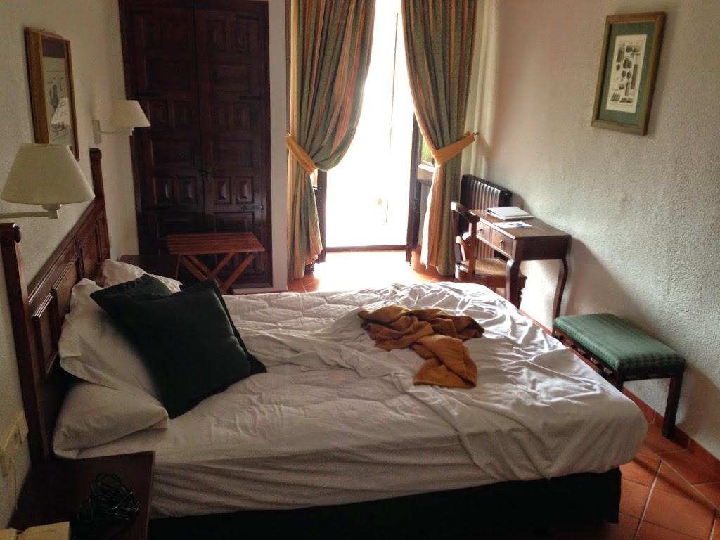 Habitación del Hotel del Monasterio de Piedra