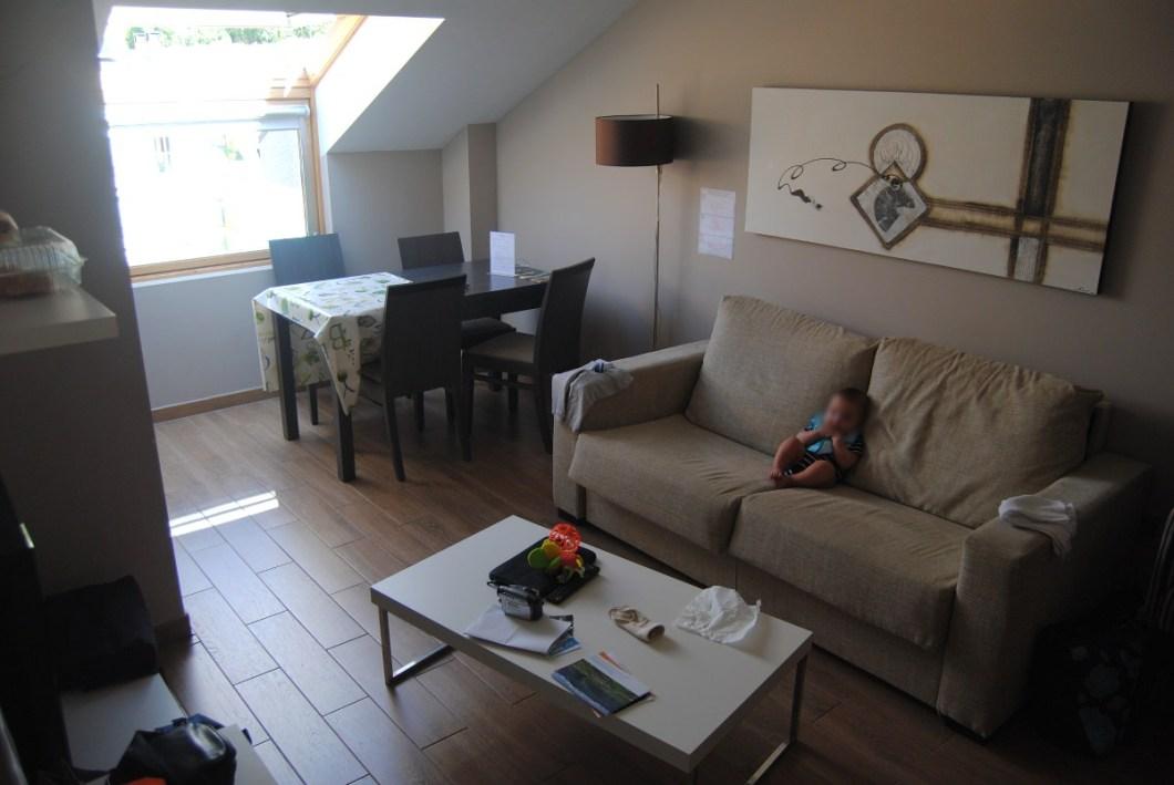 apartamento en Jaca Jacetania salon