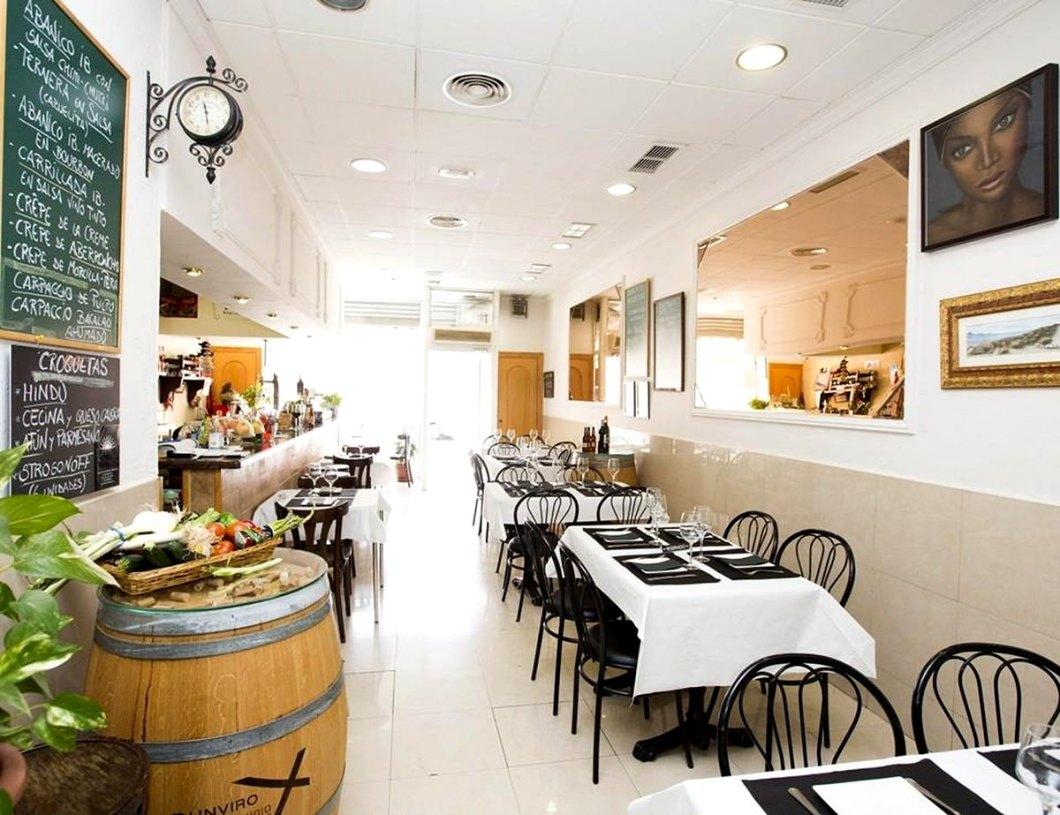 Pequeño local el del Bar Estiu, pero muy buen lugar para comer en Alicante