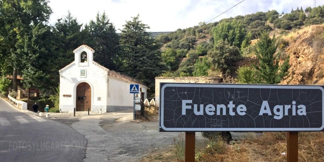 Fuente Agria y la ermita