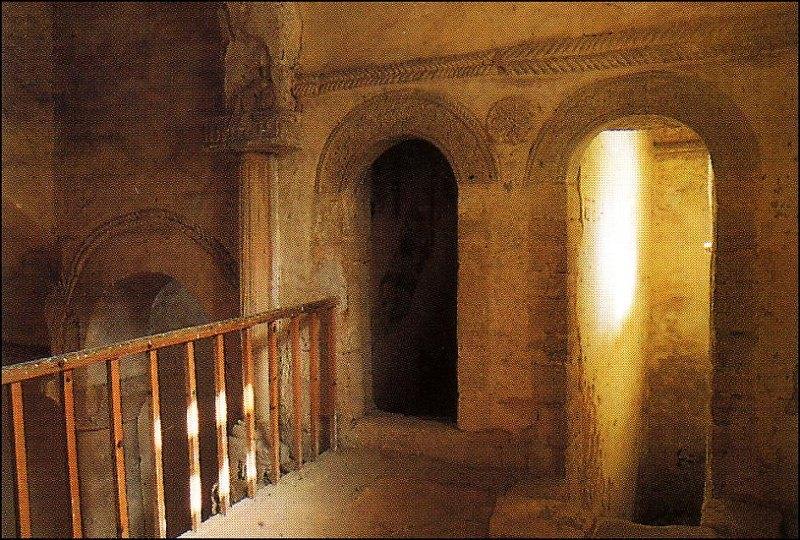 Tribuna de San Miguel de Lillo