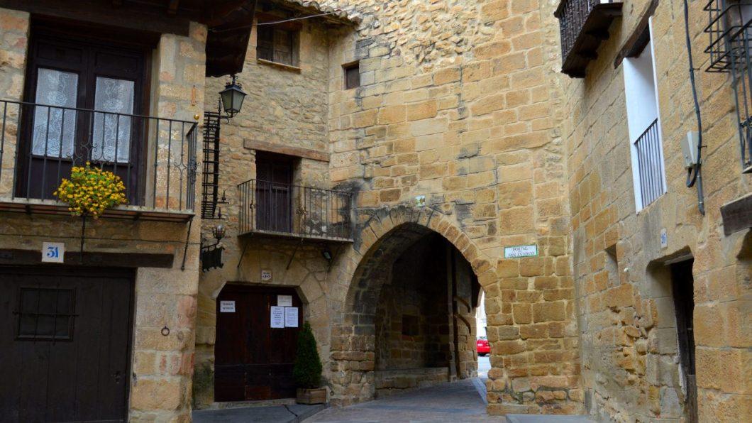 Portal de San Antonio de Rubielos de Mora