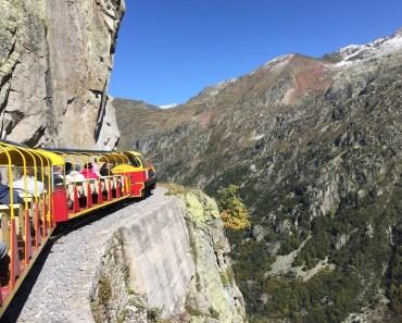 Paseo en tren por el pirineo
