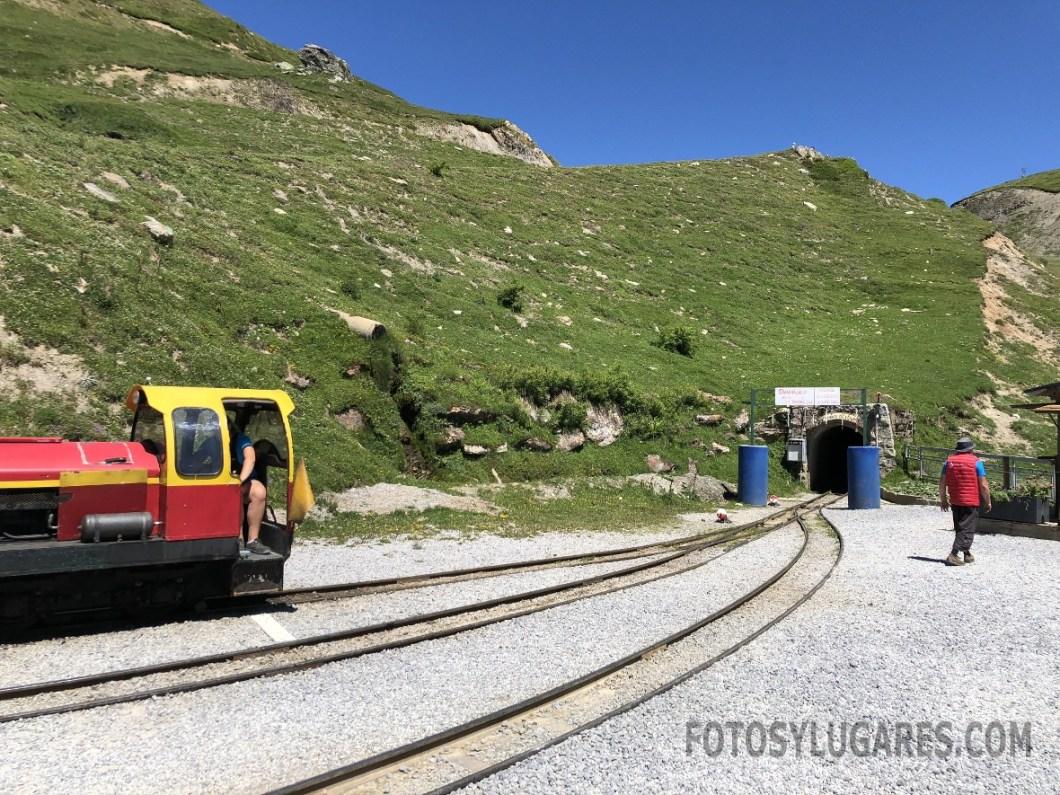 Estación del tren de Artouste