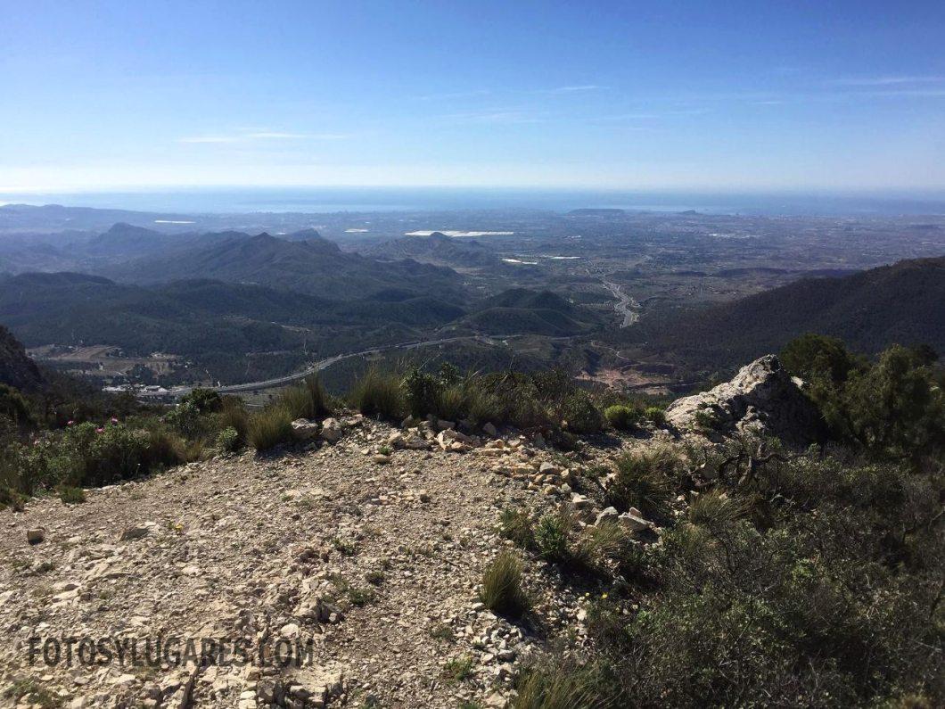Panorámica de Alicante y comarca