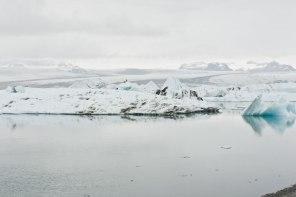 Eisberge in Island
