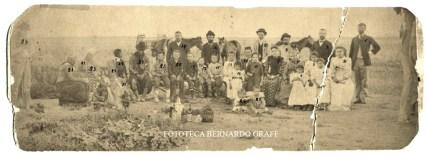 PRIMEROS POBLADORES SANTA ROSA - 6 de enero de 1894. Bernardo Graff