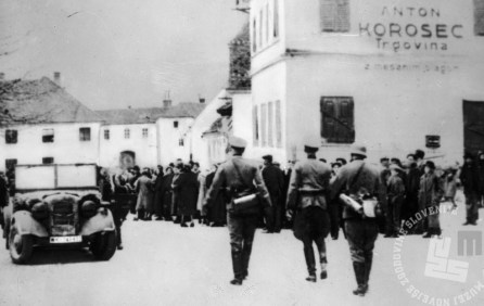Prihod nemške vojske v Gornjo Radgono, 6. april 1941.