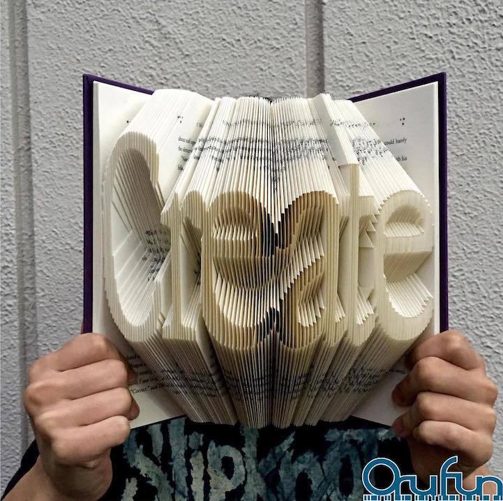 Книжное искусство, или что можно делать с книгами кроме как читать