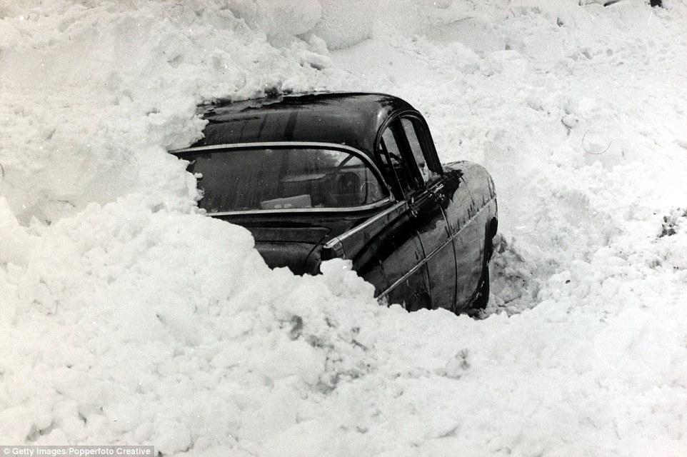 Зима в Великобритании в 1900 - 1960 годах