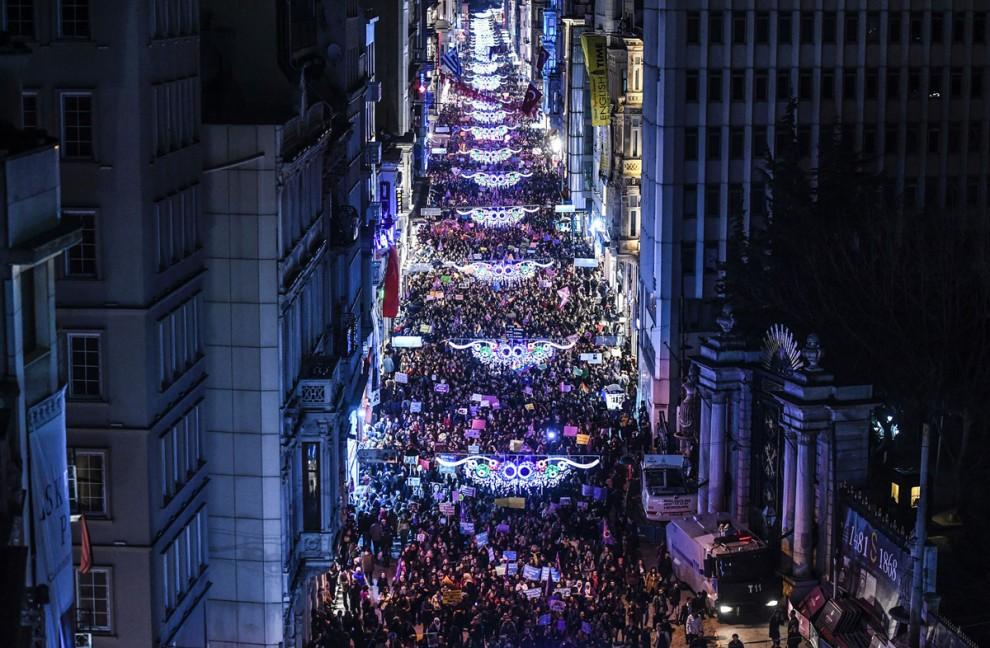 Ночной феминистический марш