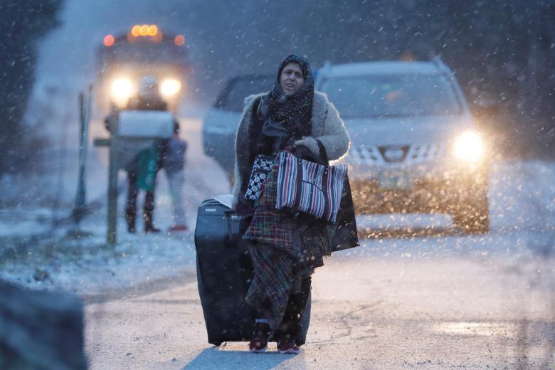 Мигрантка