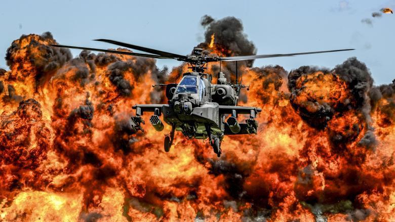 Ударный вертолёт армии США AH-64 «Apache»