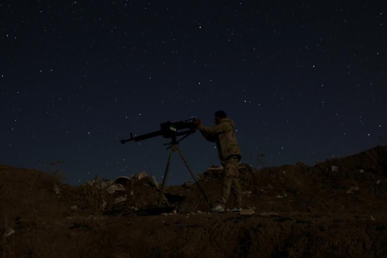 Боец Свободной армии Сирии