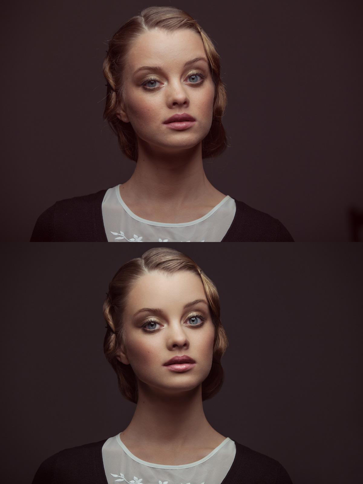 Обработки фотопортрета в осветленном виде примеры