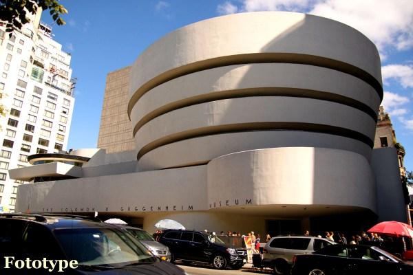 Guggenheim Museum York Fototype