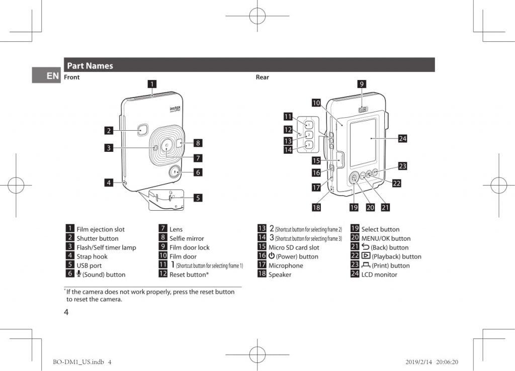 หลุดทั้งภาพและข้อมูล! Fujifilm instax mini LiPlay กล้อง