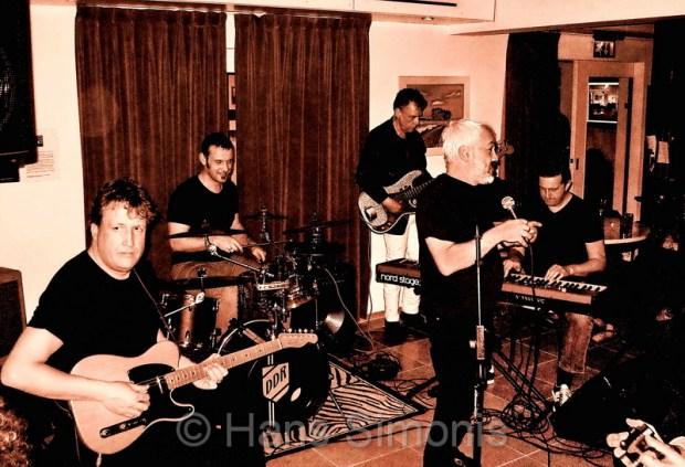 Optreden BLUES BV in de Pulchri studio 2013