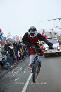 BMX piet bij Sinterklaas in Den Haag