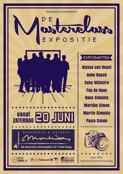 Masterclass, de Expositie flyer