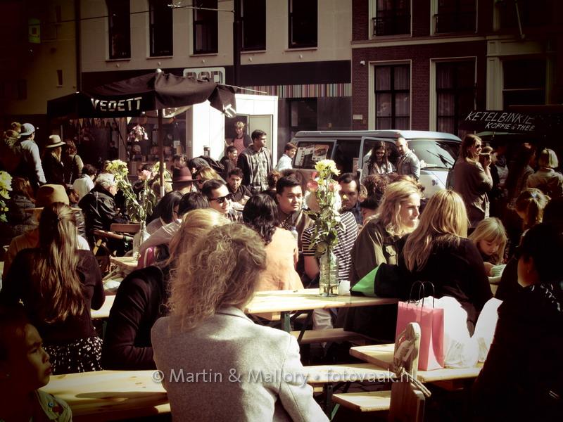Swanmarket Den Haag, dus mooi weer