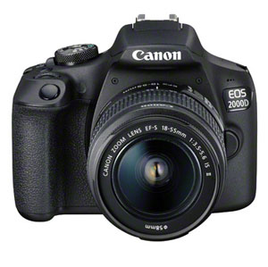 The Canon EOS 2000D is pitched at beginners and storytellers