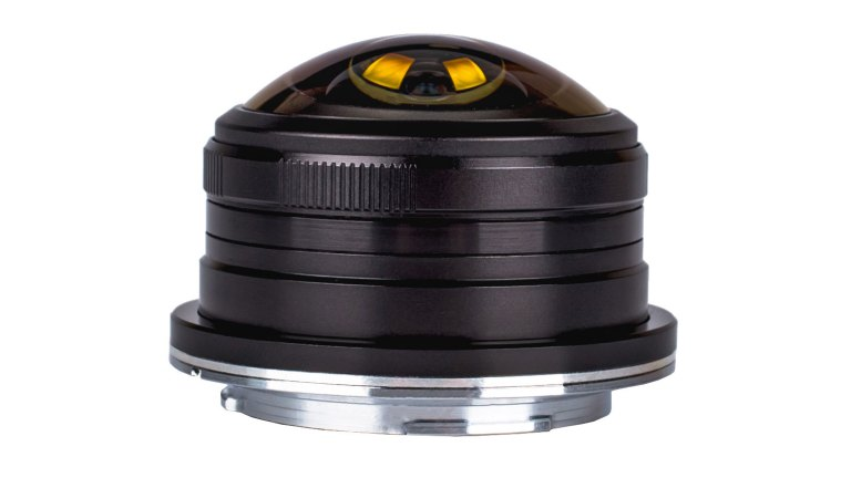 Laowa 4mm f/2.8 Fisheye for Micro Four Thirds can see 210 degrees