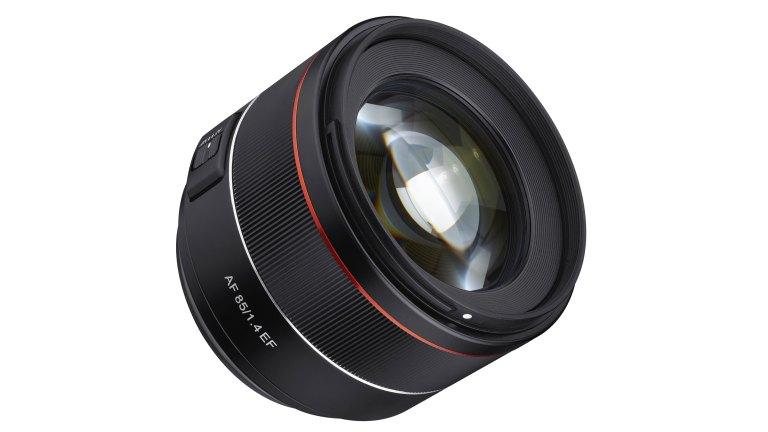 Samyang reveals AF 85mm F1.4 EF for Canon full frame
