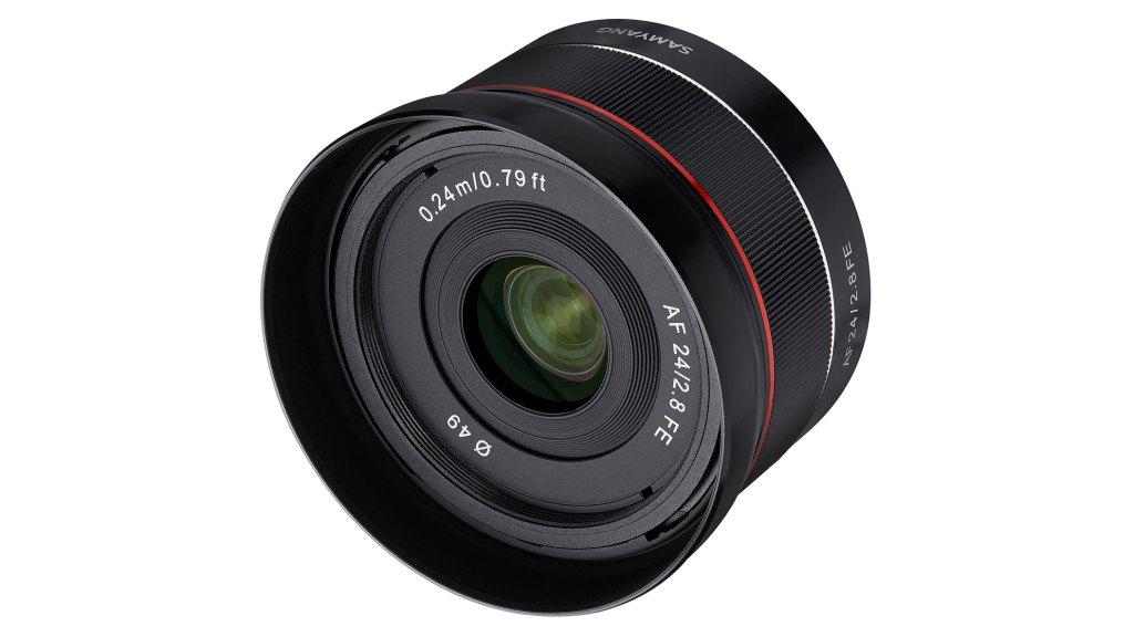 Samyang launches 24mm f/2.8 FE lens for Sony full frame