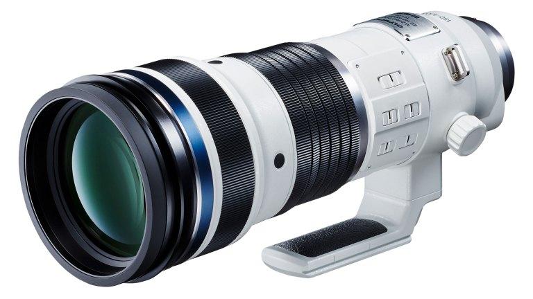 The M.Zuiko Digital ED 150- 400mm F4.5 TC1.25x IS PRO super telephoto zoom lens is on its way